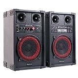 Fenton SPB-8 • PA Lautsprecher • Aktivboxen Set • 400 Watt max. • 20 cm (8