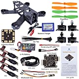 SunFounder SF210 210mm DIY Carbon Fiber FPV 4 Axis Racing Quadcopter Kit (Nazeflight32, MT2204 Motor 12A ESC, 5045 Props) EMAX