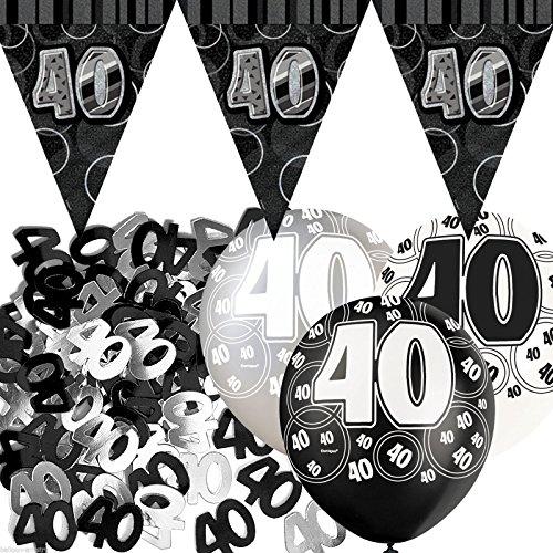 decoration anniversaire 40 ans amazon