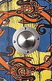 Stabiles Wikinger Schild rund, 41 cm - 2