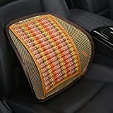 Zhhlaixing Durable Auto Vehicle Car Voiture Home Cooler Lumbar Support for Car Voiture Seat Or Chair Back Rest