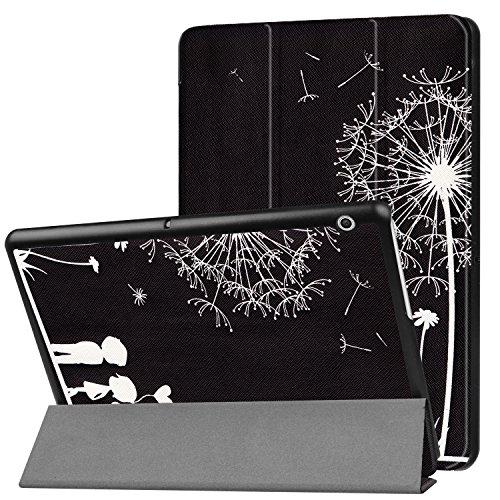 Schutzhülle für Huawei MediaPad T3 10 Hülle 9.6 Zoll Flip Case Slim mit Auto Sleep/Wake + Touch Pen -
