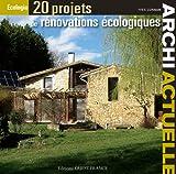 20 PROJETS DE RENOVATIONS ECOLOGIQUES...
