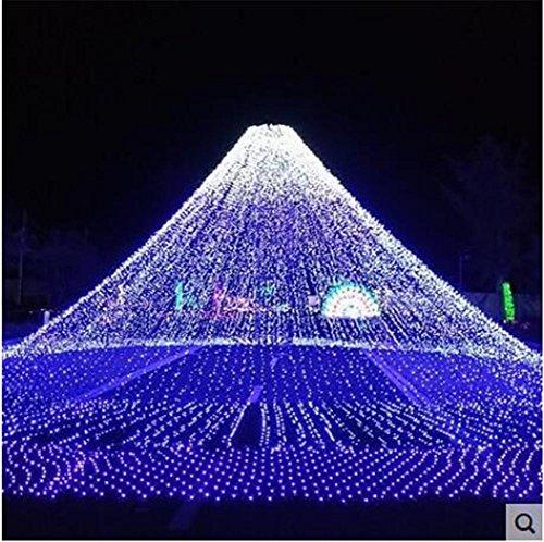 Xingyue Mythology NoëL 100 M Lampe LED ImperméAble à L'Eau De La SéRie Lampe De Nuit DéCoration Petite Lanterne , blue
