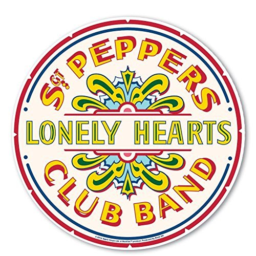 The Beatles Mousepad Sgt. Peppers Lonely Hearts Club Band Mouse Mat - Cadet Hut