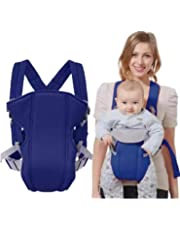 Furn Aspire Adjustable Infant Baby Carrier Newborn Kid Sling Wrap Front Back Rider Backpack Pouch Bag Original Ultralight Miracle (Blue)