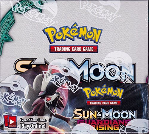 Image of Pokemon Trading Card Game - Sun and Moon Guardians Rising Booster