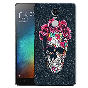 Theskinmantra Skulled decor back cover for Redmi Note 3
