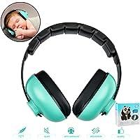 Casque anti-bruit pour enfants de 0 à 3 ans (vert)