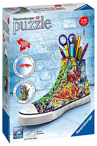 Ravensburger 12535 Sneaker Graffiti Style 3D-Puzzle