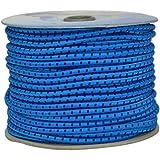 Corderie Italiane 6005124 - 00 Elástico Braid, 6 Mm-50 Mt, Azul