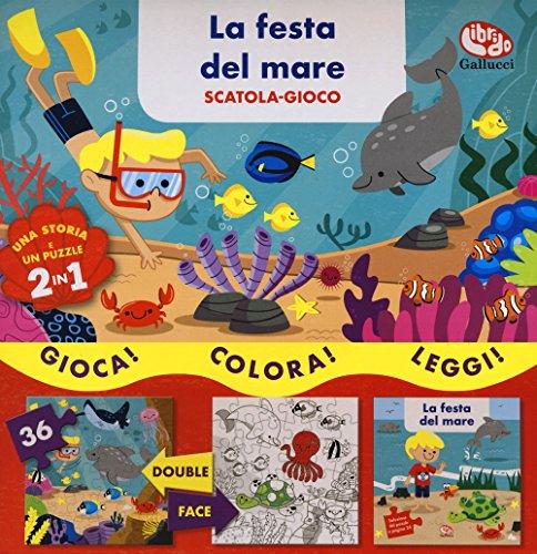 La festa del mare. Scatola gioco. Ediz. a colori. Con puzzle