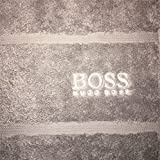 Hugo Boss New Bath Towel Gift CONCRETE GREY 180x100cm