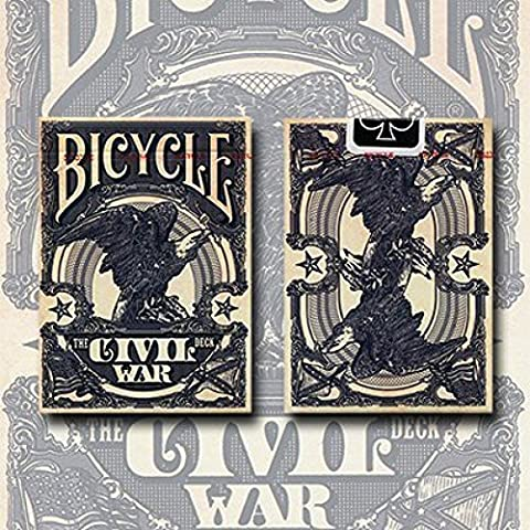 Bicycle Civil War Deck (Blue) by US Playing Card Co - Trick