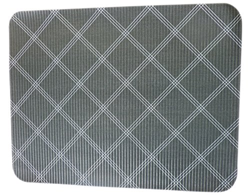 friedola Küchen - Schutzmatte 40x31 cm Abtropfmatte Tischmatte (Trendline Karo)