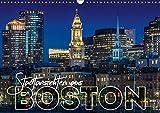 Stadtansichten aus Boston (Wandkalender 2019 DIN A3 quer): Sehenswürdigkeiten und idyllische Orte (Monatskalender, 14 Seiten ) (CALVENDO Orte)