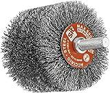 SIT Tecnospazzole 0894 Spazzola per Trapano a Filo Ondulato in Acciaio ondulato-G80D XL-Ø: 80mm