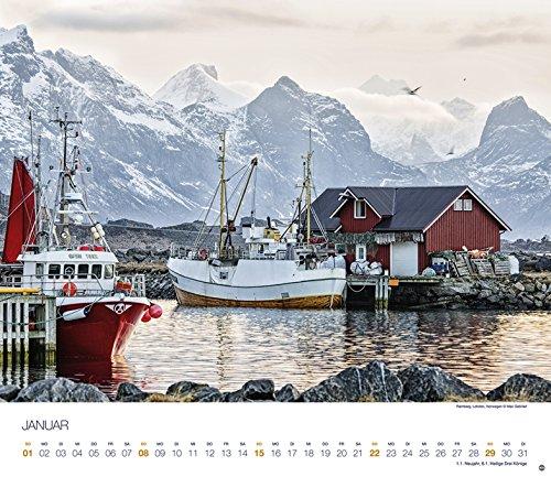 Skandinavien Globetrotter - Kalender 2017: Alle Infos bei Amazon