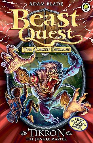Tikron the Jungle Master: Series 14 Book 3 (Beast Quest)