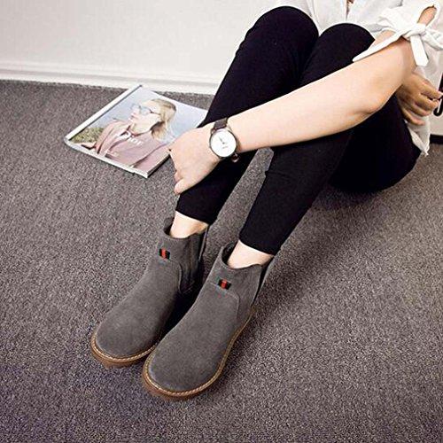 Solshine , chaussures compensées femme Grau 3