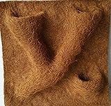Kokosfaser Rückwand Terrarium 50 x 50 cm - mit 3