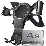 Support Telephone Voiture pour Audi A3 / S3, 360 Rotatable Car Phone Holder Car Air Vent Phone Mount Gravity MéTal Alliage Al