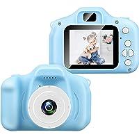 BEJOY Digital Recorder Camera 800W HD 2.0 Inch Screen Video Front Camera Child Camera for Kids (Blue)