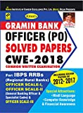 KIRAN'S GRAMIN BANK OFFICRER (PO) SOLVED PAPERS CWE 2018 ENGLISH