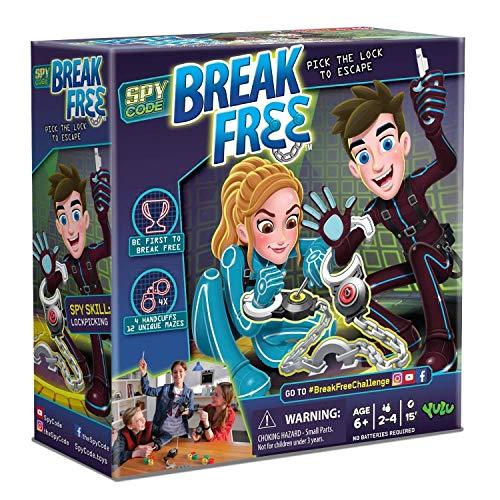 Lvein Break Free GMAE, operación Escape Room y Break Gratis Juego de Mesa-Juego de Esposas de Laberinto atlético (2-4 Jugadores)