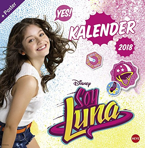 Soy Luna - Broschurkalender 2018