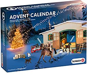 schleich 97020 adventskalender pferde weihnacht amazon. Black Bedroom Furniture Sets. Home Design Ideas