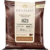 Callebaut N° 823 (33,6%) - Copertura di Cioccolato al Latte Belga - Finest Belgian Milk Chocolate (Callets) 400g