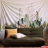 PYHQ Tropical Kaktus Blumenmuster Tapisserie Hippie Mandala Gypsy Bohemian Traditionelle indische Wandbehang Tabelle Vorhang Wand Decor Tisch Couch Bezug Picknick Decke Beach Überwurf