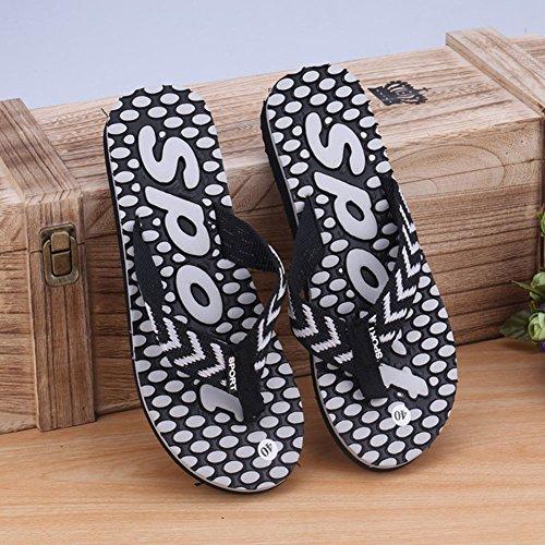 Wealsex sandalen herren zehentrenner P Schwarz