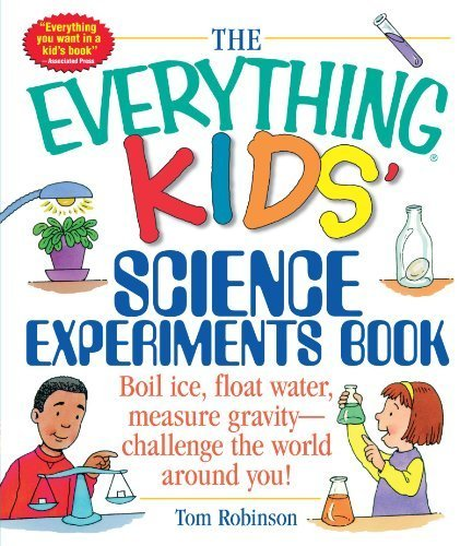 The Everything Kids' Magical Science Experiments Book: Dazzle your friends and family by making magical things happen! by Tom Robinson (2007-10-01)