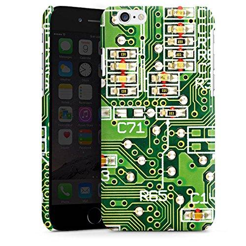 Apple iPhone 5s Housse Étui Protection Coque Platine Ordinateur Motif Cas Premium brillant