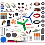 zaidcollections 6 in 1 Educational Solar Robot Energy Kit Science School Projects for Kids.