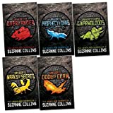 Underland Chronicles Pack, 5 books, RRP £29.95 (Gregor the Overlander; Gregor and the Prophecy of Bane; Gregor and the Curse of the Warmbloods; Gregor and the Marks of Secret; Gregor and the Code of Claw)..
