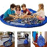HXLONG Kinder Aufräumsack Spieldecke Spielzeug Speicher Tasche Aufbewahrung Beutel Spielzeugaufbewahrung XL