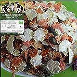 5 kg LuCano Hunde BARF Ergänzungsfutter Gemüse Flocken Mischung mit Kräutern | glutenfrei - getreidefrei