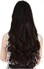 Haveream Women's Natural Curly Hair Extensions (KSP-001, Brown)