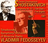 Schostakowitsch: Sinfonie Nr. 15 in A-Dur, Op. 141 / Five Days - Five Nights, Op. 111