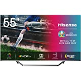 Hisense 55U7QF QLED 139 cm (55 Zoll) Fernseher (4K ULED HDR Smart TV, HDR 10+, Dolby Vision & Atmos, Full Array Local…