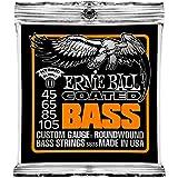 Cordes basse électrique Ernie Ball Hybrid Slinky Coated - Calibre 45-105