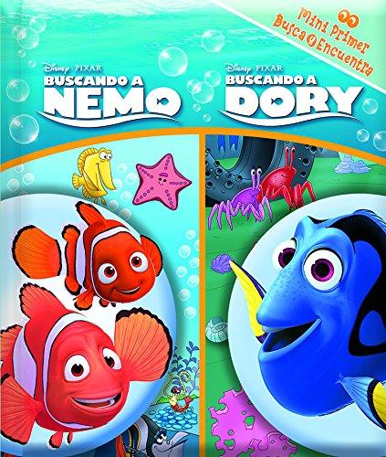 Mini primer busca y encuentra. Buscando a Dory y buscando a Nemo (LM1LF) por Disney