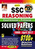 Kiran's SSC Reasoning Chapterwise & Typewise Solved Papers 8700+ Objective Questions – English - 1923