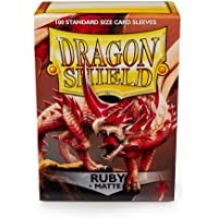 Dragon Shield AT-11037 Matte Standard Size Sleeves 100pk-Ruby
