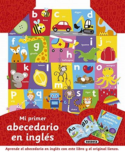 Mi primer abecedario en inglés (Un libro un lienzo) por Susaeta Ediciones S A