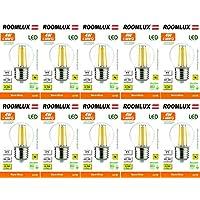 10X Roomlux E27 G45 4W LED 470 lúmenes 2700k,bombillas,bombilla,bombilla led, bombillas led e27, bombilla led e27,bombilla led e27 calido,