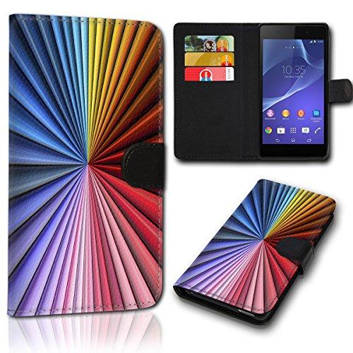 Book Style Wiko Jimmy Tasche Flip Brieftasche Handy Hülle Kartenfächer für Wiko Jimmy - Design Flip SVH36